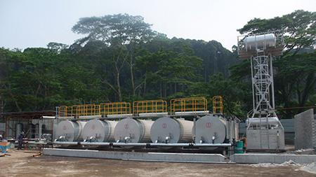 Asphalt Storage and Heating Tank