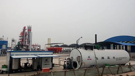 Coal Fired Heating Asphalt Storage Tank